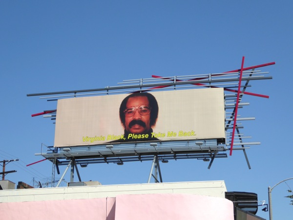 Virginia Black please take me back Drake billboard