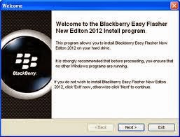 Blackberry All Mobiles Flashing Tool/Software Windows For  Free Download