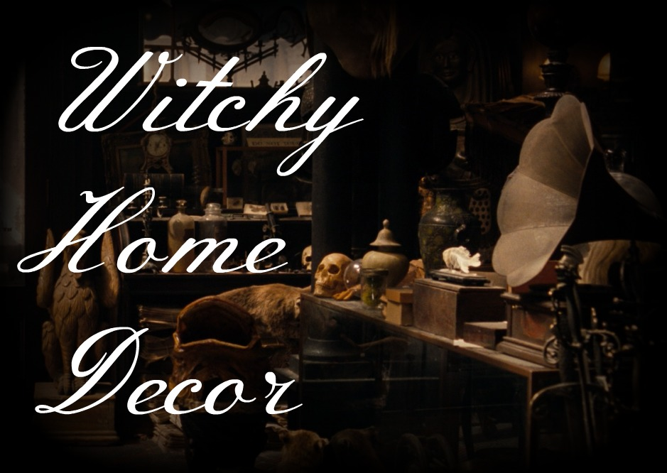 Personally I Keep Gravitating Towards Witchy Or Occult Inspired Home Decor As Something I Might Like To Try So Here Are Some Ways I Think I Could
