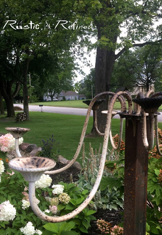 Flea Market Gardening - Yard art