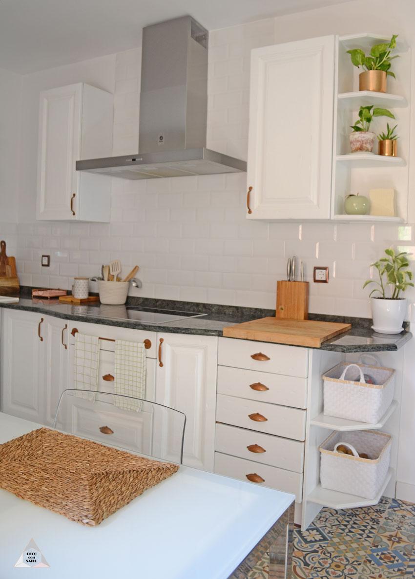 reforma cocina azulejos metro