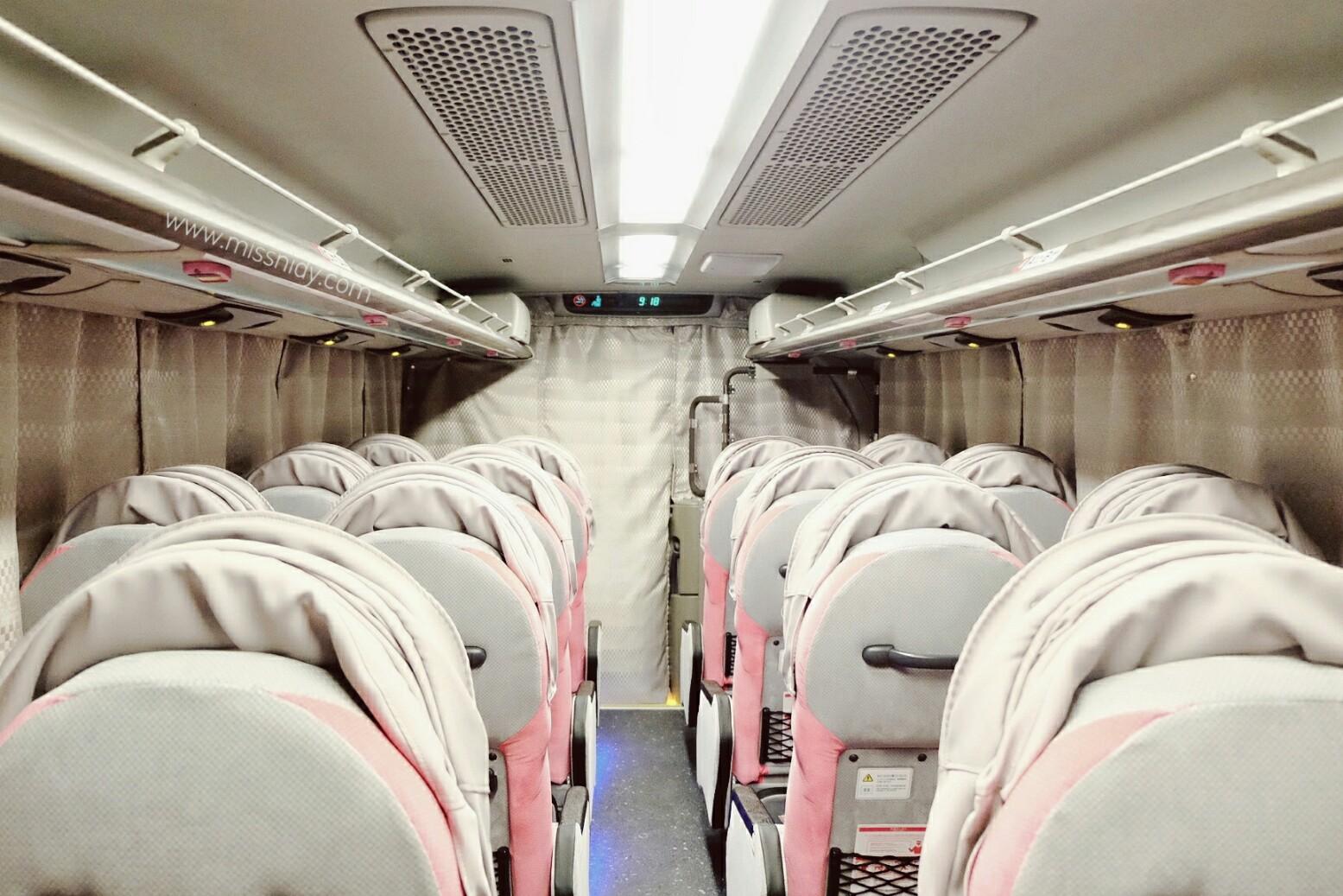 pengalaman naik bus malam di jepang
