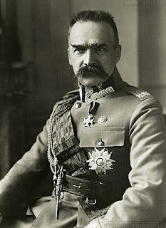 Józef Piłsudski - fot. Karol Pęcherski 1929