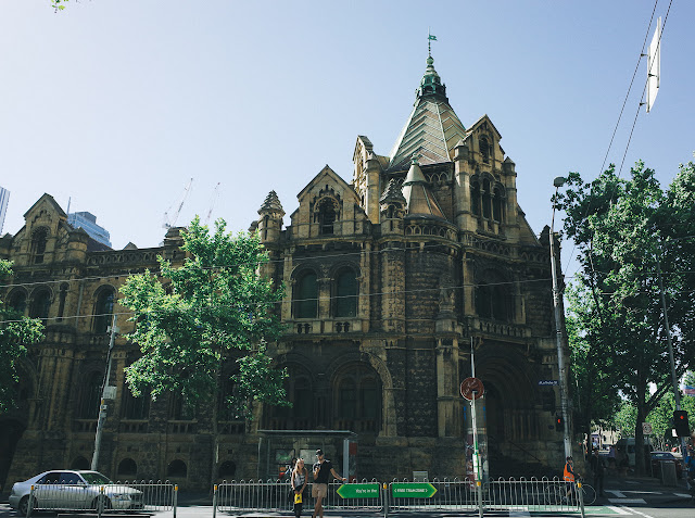 旧メルボルン治安判事裁判所(Former Melbourne Magistrates' Cour)