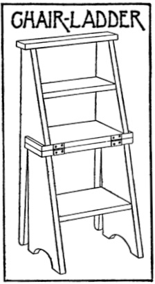 Chair Ladder Plans Plans Free PDF Download