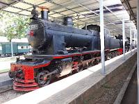 Wisata Sejarah Kunjungi Museum Kereta Api Ambarawa.