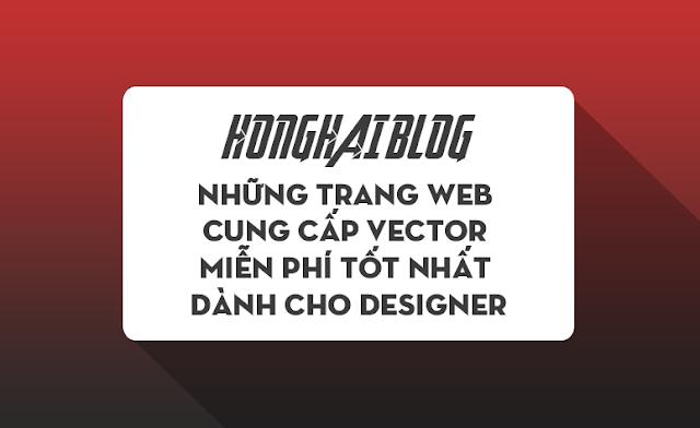 Những trang Web cung cấp Vector miễn phí tốt nhất dành cho Designer