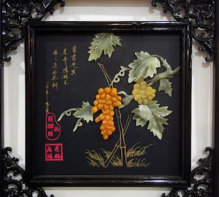 jade art composition