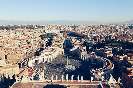 Plaza de San Pedro. 20 cosas que saber de Roma.