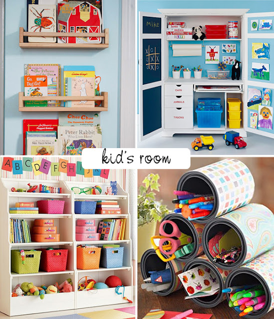 Creative Kids Room: Beautiful Decor And Organizing Ideas For The Kids Room