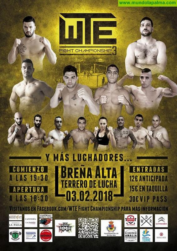 WTE Fight Championship3 en Breña Alta