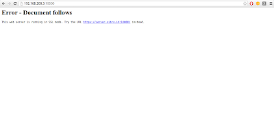 Kemudian buka web browser lalu akses webmin dengan cara http://[ip address server]:10000