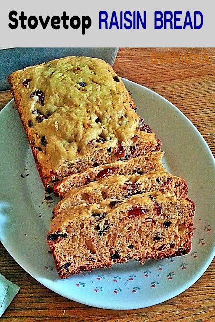 Stow Top Raisin Bread Recipe @ treatntrick.blogspot.com