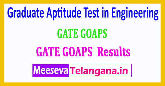 GATE Results 2018 Graduate Aptitude Test in Engineering 2018 Rank Card Download