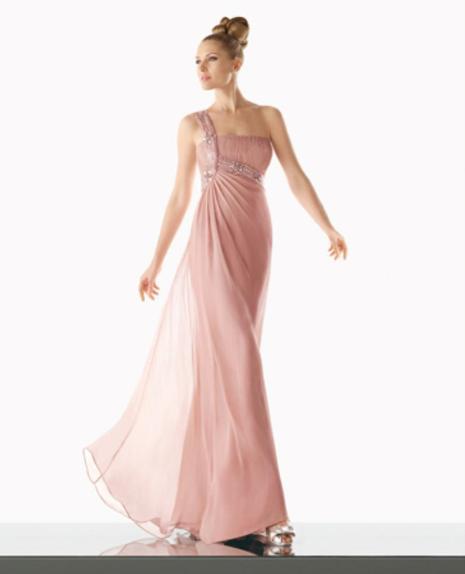Outlet vestidos fiesta rosa clara barcelona