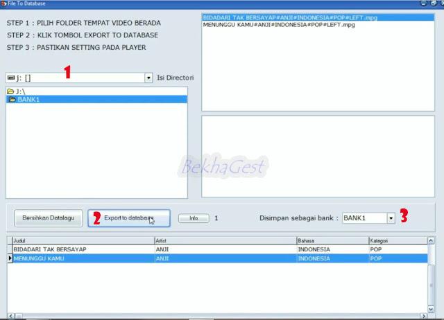 Cara Menambah Lagu Karaoke Hasil Download Dari Youtube Ke Database Matrix Home Karaoke Dengan Mudah