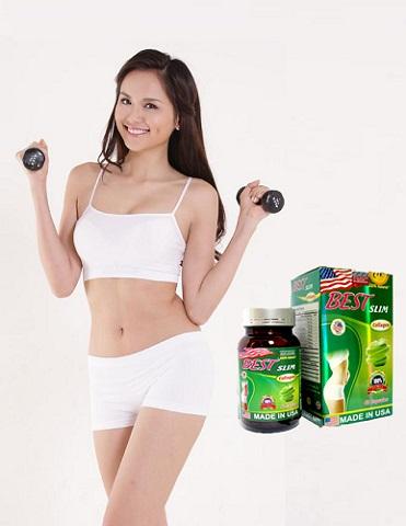 Viên Best Slim Collagen USA giúp giảm cân hiệu quả
