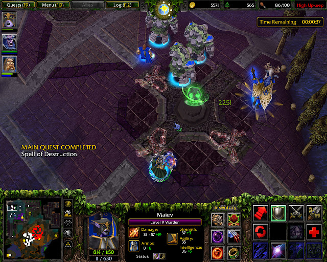 The Ruins of Dalaran Mission 7 | Shadow Strike Screenshot | Warcraft 3: The Frozen Throne