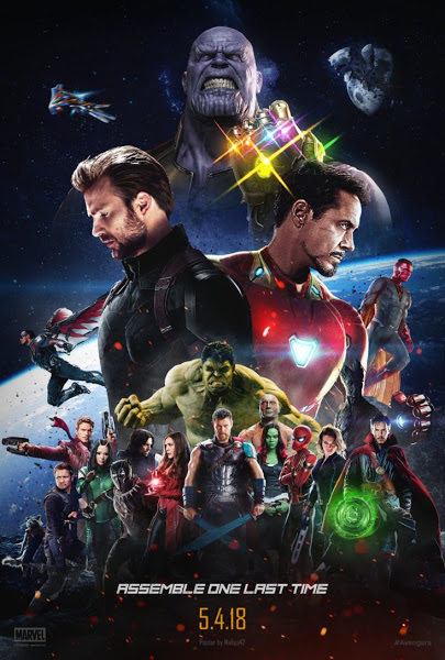 Avengers Infinity War (2018) Dual Audio Hindi Dubbed 720p