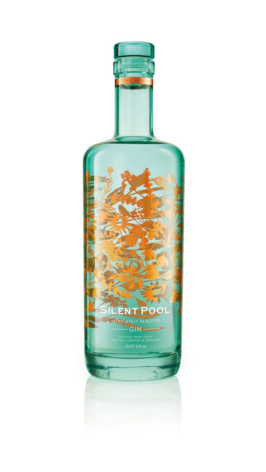 Silent pool distillers on packaging of the world creative package design gallery - Silent pool gin ...