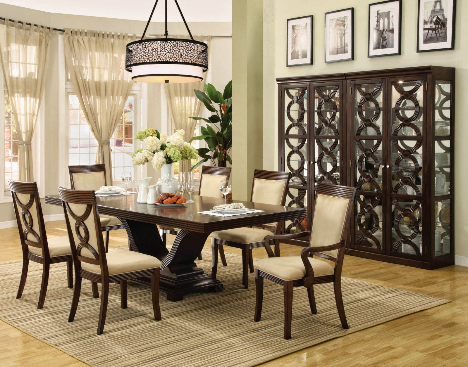Ade Decor Dining Room Table Centerpiece Ideas