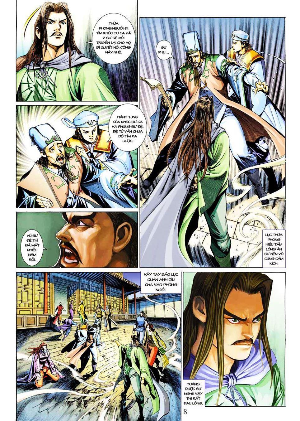 Anh Hùng Xạ Điêu anh hùng xạ đêu chap 33 trang 8