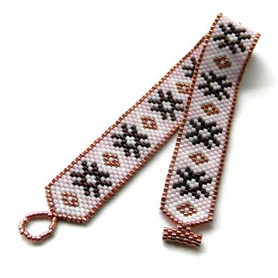 купить женский браслет из бисера в интернет-магазине фото цена