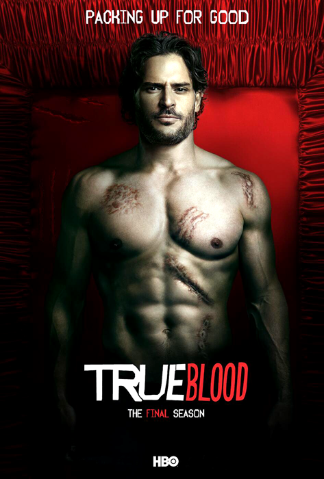 Joe Manganiello în posterul True Blood.