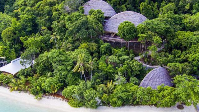 Pagi Eksklusif di Pulau Bawah, Tersembunyi dan Mewah