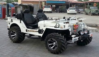 Modified Landi Jeep