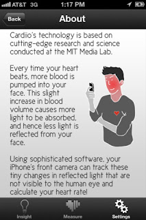 cardiio iPhone App That Calculates Your Heart Rate