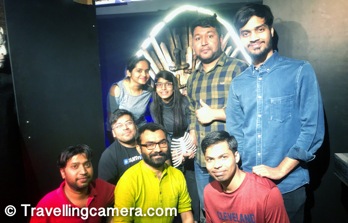 All of us had lot of fun at Escape rooms, which is tiny yet beautiful place in one of the streets of Hauz Khas Village. Escape rooms is a place like Mystery rooms in Rajaouri Garden but I found it better than Mystry rooms. Location is certainly a factor and how professional staff these 2 places have.