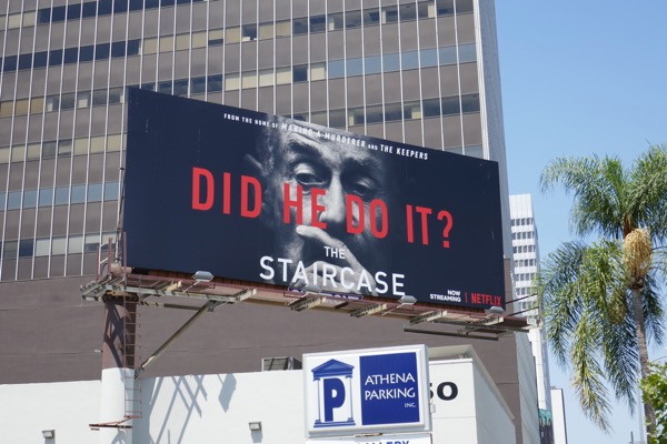 Staircase Did he do it billboard