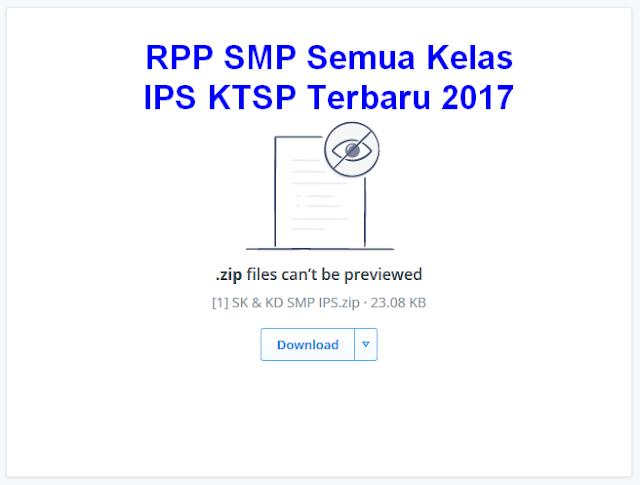 RPP SMP Semua Kelas IPS KTSP