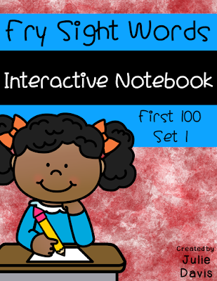 https://www.teacherspayteachers.com/Product/Fry-First-100-Set-1-Sight-Word-Interactive-Notebooks-Set-1-2532273