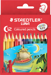 Staedtler Luna Triangular coloured dan watercoloured