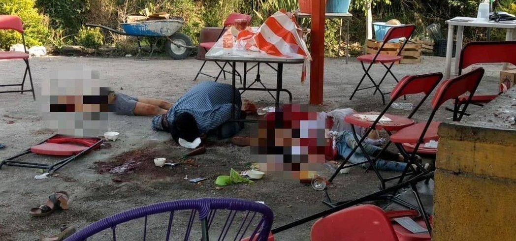 MASACRE: Comando armado acribilla a clientes de restaurant en Cuautla, Morelos; hay 4 muertos y 11 heridos