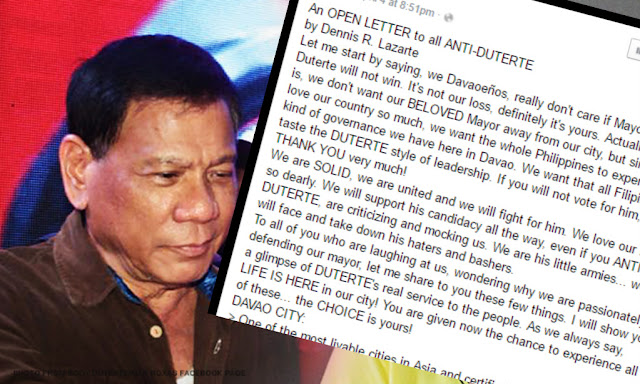 Are you a Duterte hater? This open letter will be an eye-opener to you