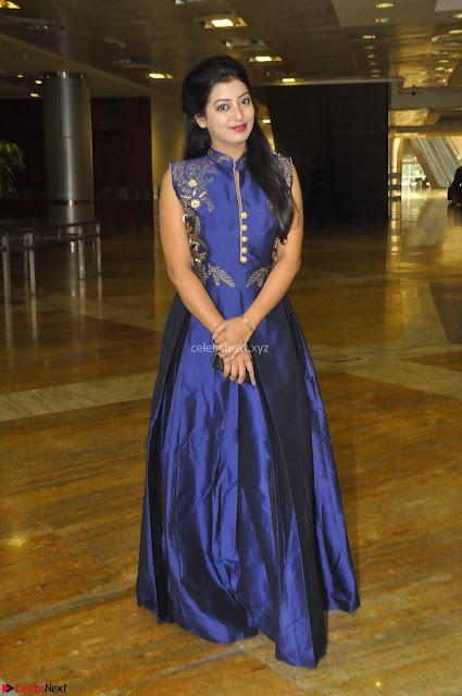 Tarunika Sing in Blue Ethnic Anarkali Dress 10.JPG