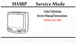 Service Mode TV SHARP Berbagai Type.