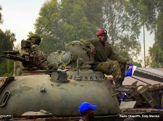 tanques del Congo