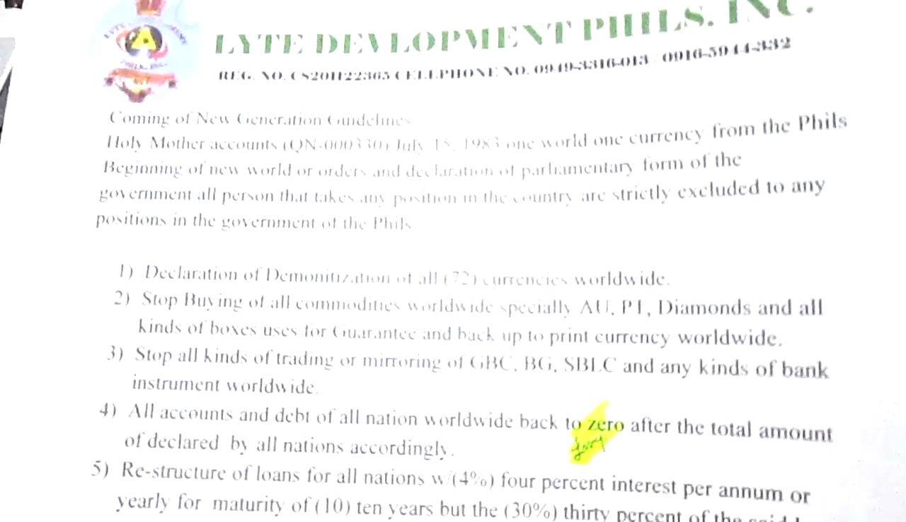 PROOF: The Assets (ABL QN000330) HUMANITARIAN PROJECTS PROGRAM ...