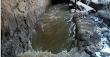 IMÁGENES FUERTES Vieron que el río arrastraba algo extraño (+video)