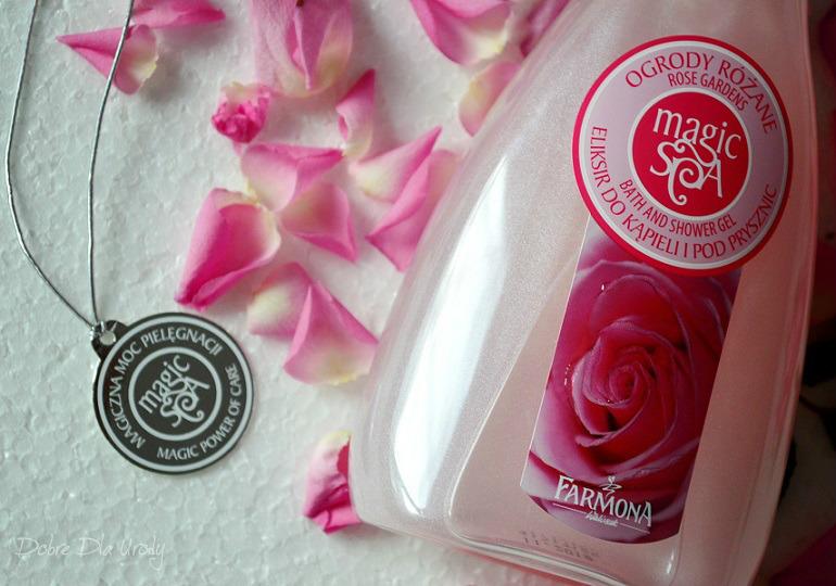 Eliksir do kąpieli i pod prysznic Ogrody Różane Farmona