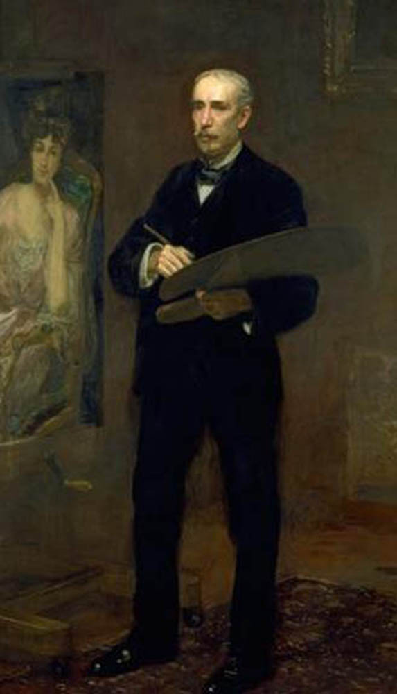 James Carroll Beckwith, Portrait of Painters, Self Portraits