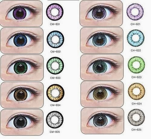 Natural Eye Contacts
