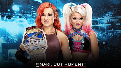 WWE No Mercy 2016 Women's Title Match Alexa Bliss vs Becky Lynch