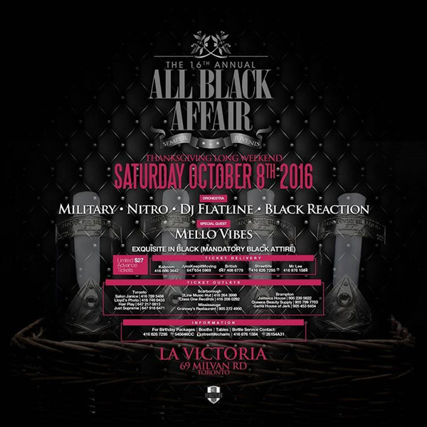 c a confidential the 16th annual all black affair la victoria