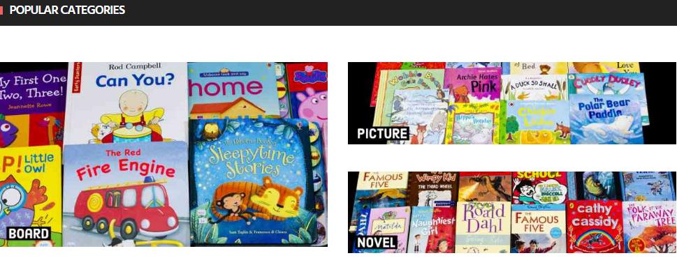 my children books, bahan bacaan terpakai, buku cerita terpakai murah