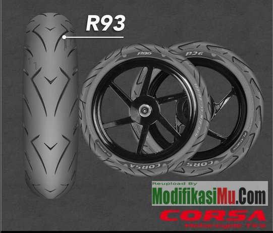 Corsa Platinum R93 Marq Marquez Racing - Update Promo Daftar Harga Ban Motor Corsa Platinum R26 R93 dan R99 Spesial Racing Balapan Kering Basah